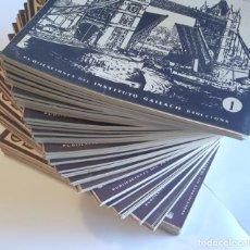 Libros antiguos: GEOGRAFÍA UNIVERSAL, INSTITUTO GALLACH. COLECCIÓN COMPLETA - 50 FASCÍCULOS. EN PERFECTO ESTADO.. Lote 226437635