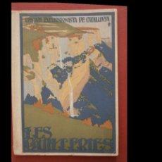Libros antiguos: LES GUILLERIES. DESCRIPCIÓ GENERAL DE LA COMARCA. ITINERARIS DE LES PRINCIPALS..... Lote 227188955