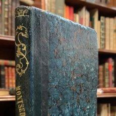 Libros antiguos: GUIA DE MONTSERRAT Y DE SUS CUEVAS. VICTOR BALAGUER. Lote 227236500