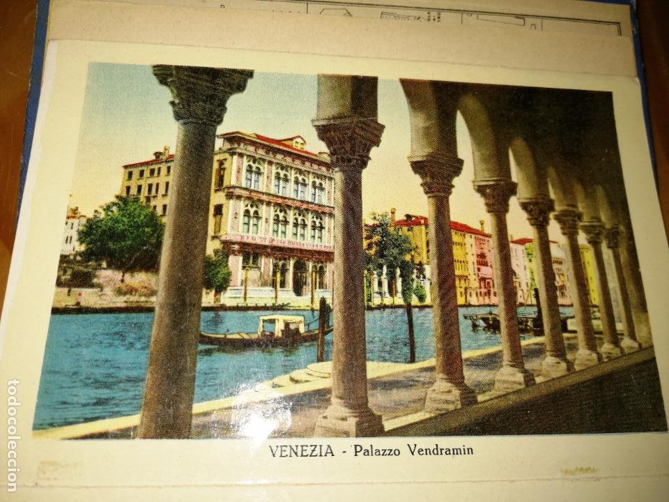 Libros antiguos: RICORDO DI VENEZIA. GUÍA CON POSTALES DE VENCIA. 32 POSTALES.VER FOTOS. MAPA DE VENECIA.W. - Foto 5 - 227978952