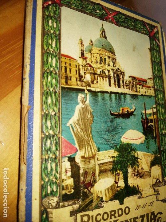 Libros antiguos: RICORDO DI VENEZIA. GUÍA CON POSTALES DE VENCIA. 32 POSTALES.VER FOTOS. MAPA DE VENECIA.W. - Foto 8 - 227978952