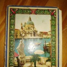 Libros antiguos: RICORDO DI VENEZIA. GUÍA CON POSTALES DE VENCIA. 32 POSTALES.VER FOTOS. MAPA DE VENECIA.W.. Lote 227978952