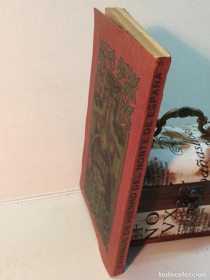 Libros antiguos: Compañía de los caminos de hierro del Norte de España. Invierno de 1911-12 - Foto 2 - 227988485