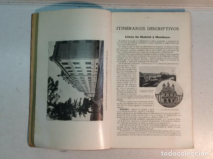Libros antiguos: Compañía de los caminos de hierro del Norte de España. Invierno de 1911-12 - Foto 4 - 227988485