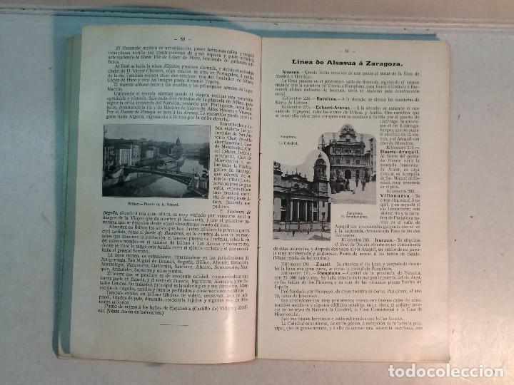 Libros antiguos: Compañía de los caminos de hierro del Norte de España. Invierno de 1911-12 - Foto 6 - 227988485