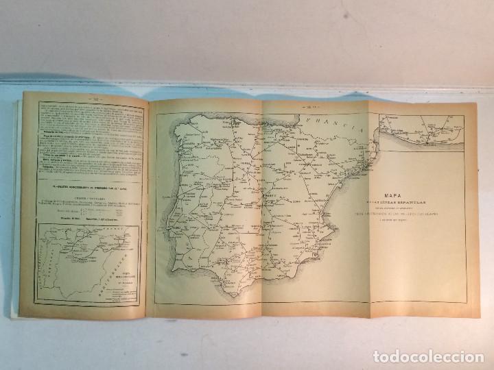 Libros antiguos: Compañía de los caminos de hierro del Norte de España. Invierno de 1911-12 - Foto 7 - 227988485