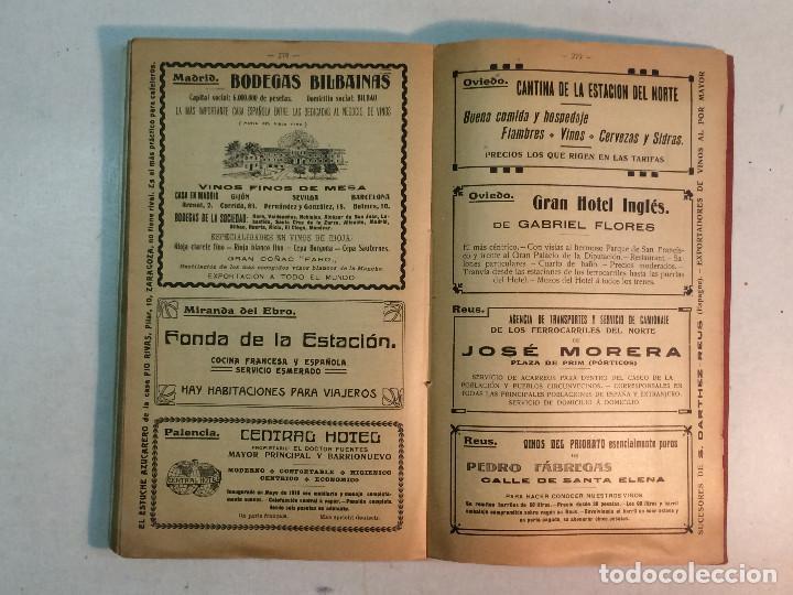 Libros antiguos: Compañía de los caminos de hierro del Norte de España. Invierno de 1911-12 - Foto 9 - 227988485