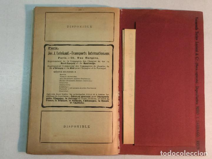 Libros antiguos: Compañía de los caminos de hierro del Norte de España. Invierno de 1911-12 - Foto 10 - 227988485