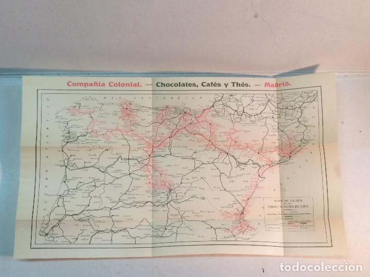 Libros antiguos: Compañía de los caminos de hierro del Norte de España. Invierno de 1911-12 - Foto 11 - 227988485