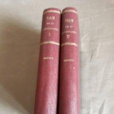 Libros antiguos: VIAJE DE UN NATURALISTA ALREDEDOR DEL MUNDO .DARWIN.1935 ESPASA CALPE DOS TOMOS. 2 MAPAS Y FIGURAS. Lote 228121355