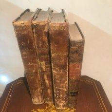 Libros antiguos: LOTE DE 4 LIBROS SIGLO XIX. Lote 228321370
