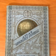Libros antiguos: ATLAS GEOGRAFICO UNIVERSAL, POR ESTEBAN PALUZIE, (FAUSTINO PALUZIE, EDITOR). Lote 228222583