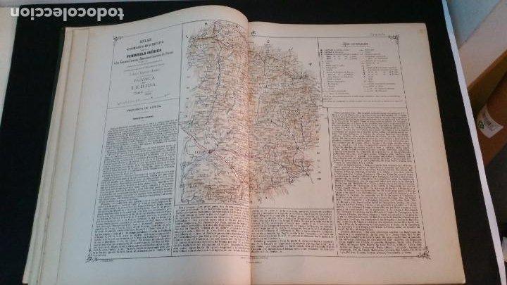 Libros antiguos: 1880 - VALVERDE Y ÁLVAREZ - Atlas geográfico descriptivo de la Península Ibérica, ETC. - completo - Foto 6 - 230191665
