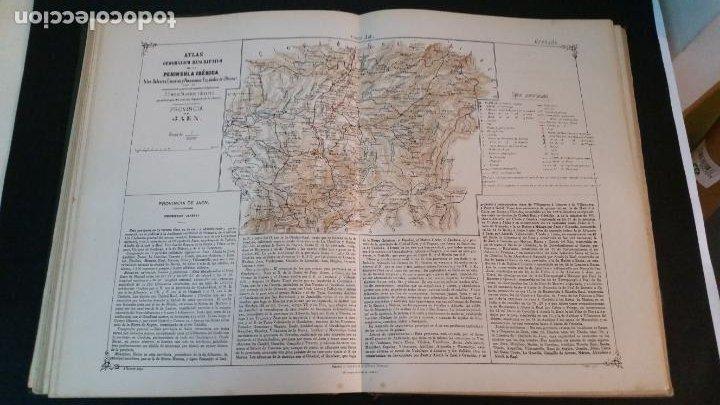 Libros antiguos: 1880 - VALVERDE Y ÁLVAREZ - Atlas geográfico descriptivo de la Península Ibérica, ETC. - completo - Foto 7 - 230191665