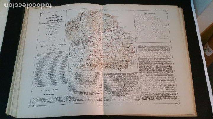 Libros antiguos: 1880 - VALVERDE Y ÁLVAREZ - Atlas geográfico descriptivo de la Península Ibérica, ETC. - completo - Foto 8 - 230191665