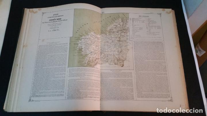 Libros antiguos: 1880 - VALVERDE Y ÁLVAREZ - Atlas geográfico descriptivo de la Península Ibérica, ETC. - completo - Foto 9 - 230191665