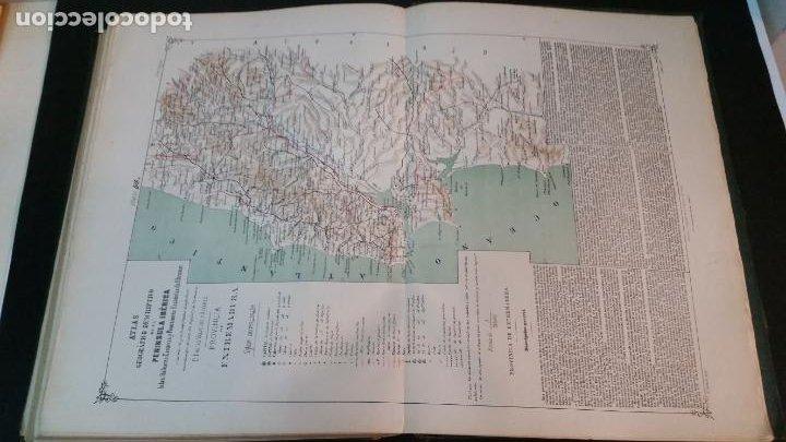 Libros antiguos: 1880 - VALVERDE Y ÁLVAREZ - Atlas geográfico descriptivo de la Península Ibérica, ETC. - completo - Foto 11 - 230191665