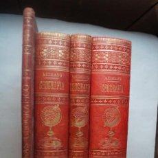 Libros antiguos: GEOGRAFIA UNIVERSAL, COMERCIAL Y ESTADISTICA. EMILIO MEDRANO. 1895. COMPLETA Y CON ATLAS.. Lote 230358935