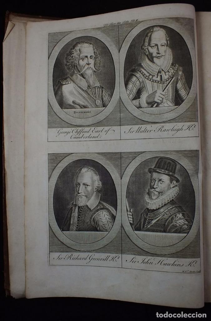Libros antiguos: Navigantium atque Itinerantium Bibliotheca..., tomo 2, 1764. John Harris. Grandes grabados - Foto 4 - 234741610