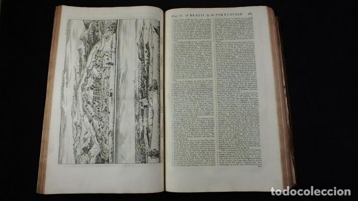 Libros antiguos: Navigantium atque Itinerantium Bibliotheca..., tomo 2, 1764. John Harris. Grandes grabados - Foto 8 - 234741610