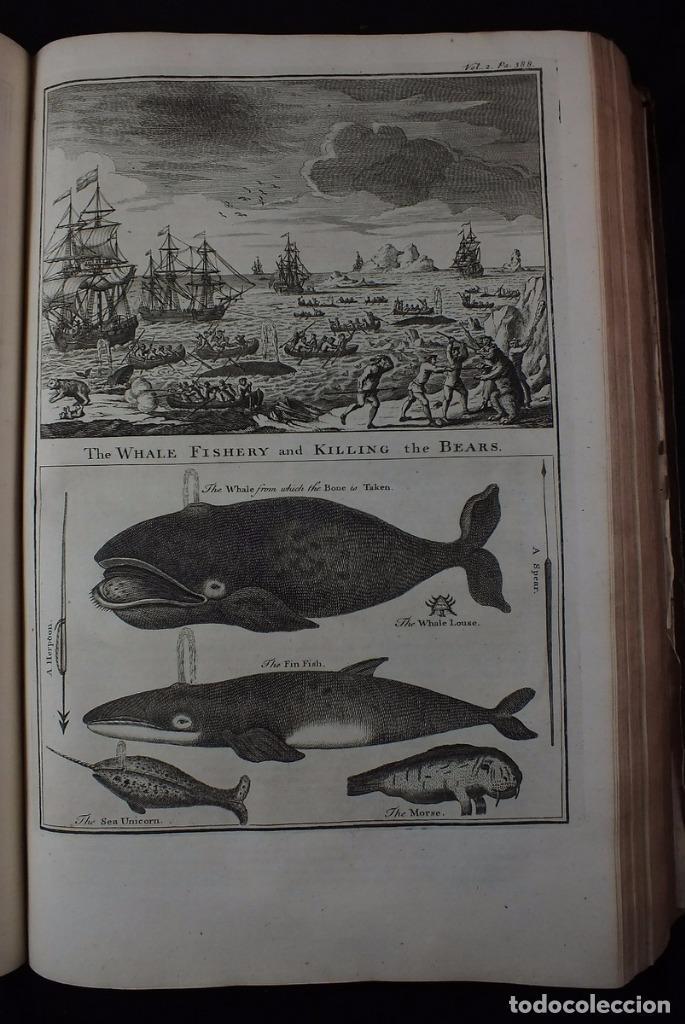 Libros antiguos: Navigantium atque Itinerantium Bibliotheca..., tomo 2, 1764. John Harris. Grandes grabados - Foto 9 - 234741610
