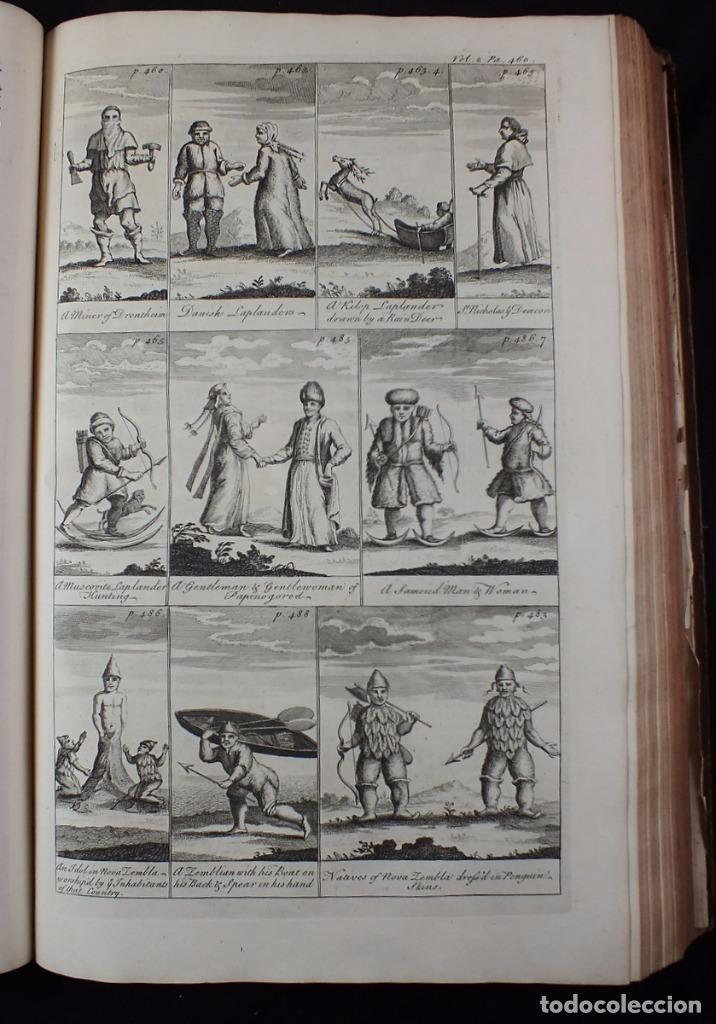 Libros antiguos: Navigantium atque Itinerantium Bibliotheca..., tomo 2, 1764. John Harris. Grandes grabados - Foto 11 - 234741610