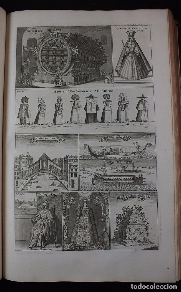Libros antiguos: Navigantium atque Itinerantium Bibliotheca..., tomo 2, 1764. John Harris. Grandes grabados - Foto 12 - 234741610