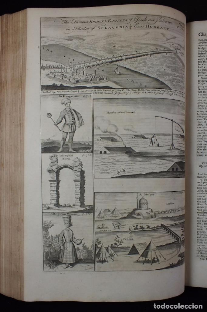 Libros antiguos: Navigantium atque Itinerantium Bibliotheca..., tomo 2, 1764. John Harris. Grandes grabados - Foto 15 - 234741610
