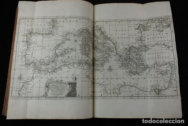 Libros antiguos: Navigantium atque Itinerantium Bibliotheca..., tomo 2, 1764. John Harris. Grandes grabados - Foto 17 - 234741610