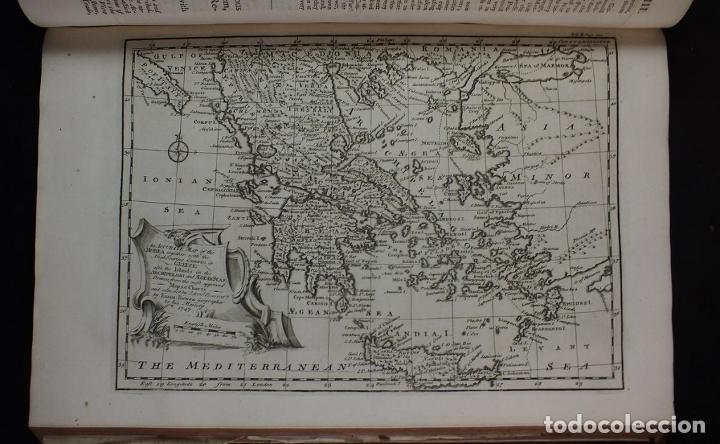 Libros antiguos: Navigantium atque Itinerantium Bibliotheca..., tomo 2, 1764. John Harris. Grandes grabados - Foto 18 - 234741610