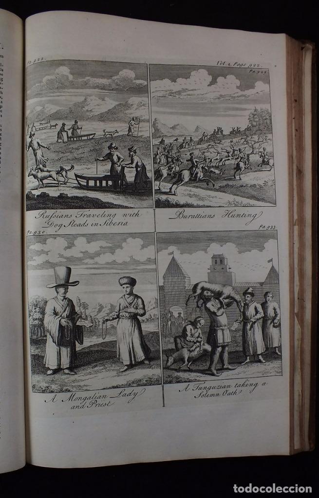 Libros antiguos: Navigantium atque Itinerantium Bibliotheca..., tomo 2, 1764. John Harris. Grandes grabados - Foto 20 - 234741610