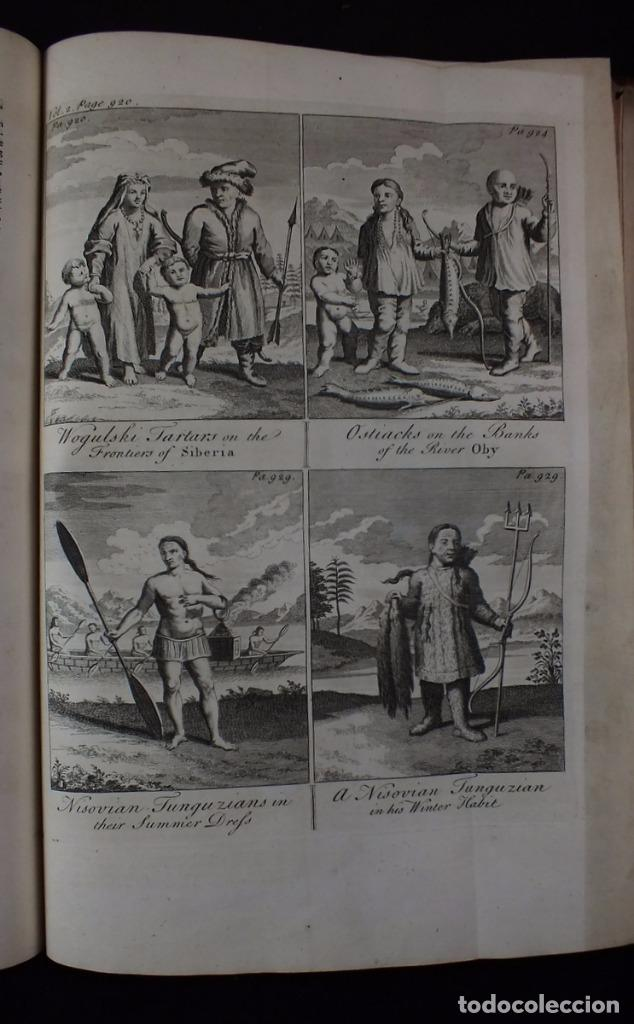 Libros antiguos: Navigantium atque Itinerantium Bibliotheca..., tomo 2, 1764. John Harris. Grandes grabados - Foto 21 - 234741610