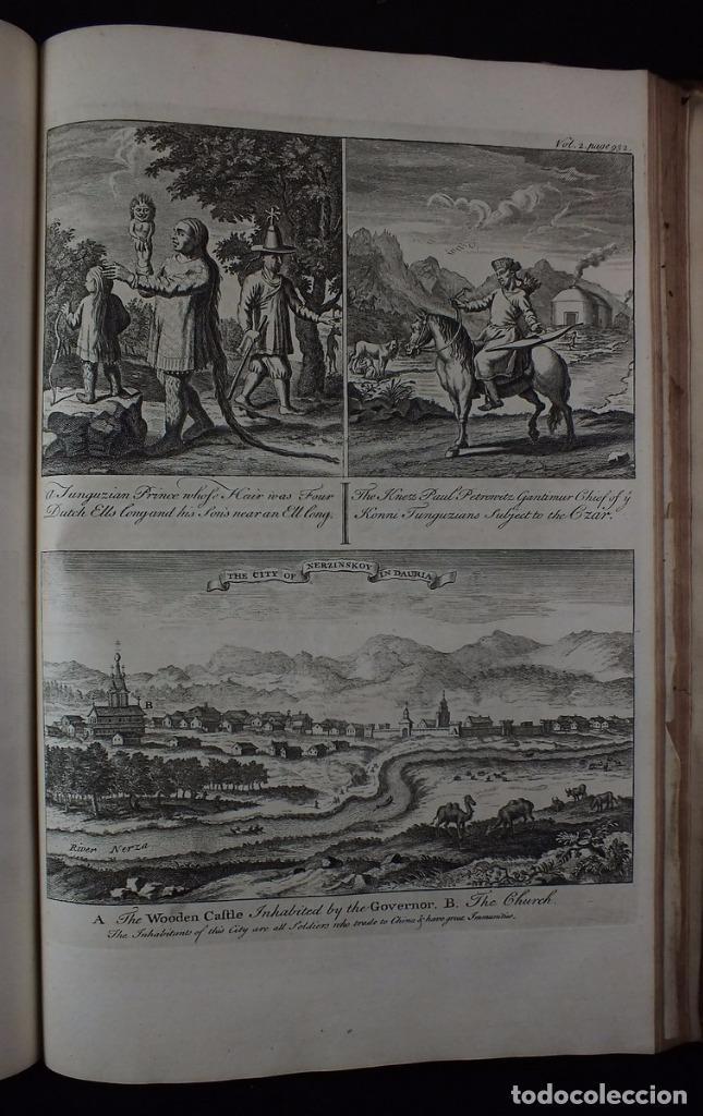 Libros antiguos: Navigantium atque Itinerantium Bibliotheca..., tomo 2, 1764. John Harris. Grandes grabados - Foto 22 - 234741610