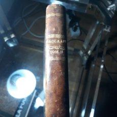 Libros antiguos: DICCIONARIO GEOGRÁFICO UNIVERSAL. POR D. ANTONIO MONTPALAU. TOMO SEGUNDO. AÑO 1793. Lote 234886370