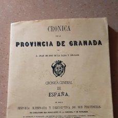 Libros antiguos: CRONICA DE LA PROVINCIA DE GRANADA. Lote 235731040