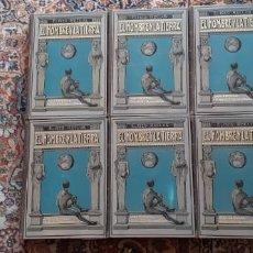 """Libros antiguos: """"EL HOMBRE Y LA TIERRA"""" DE ELISEO RECLUS. Lote 235788455"""