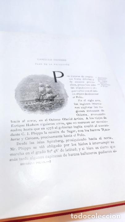 Libros antiguos: La estrella polar en el mar Ártico. S.A.R. El duque de los Abruzos. 1899-1900. Barcelona. 1903. - Foto 7 - 236021785