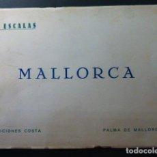 Libros antiguos: MALLORCA J. ESCALAS EDICIONES COSTA 1932 64 FOTOGRAFIAS. Lote 236044350