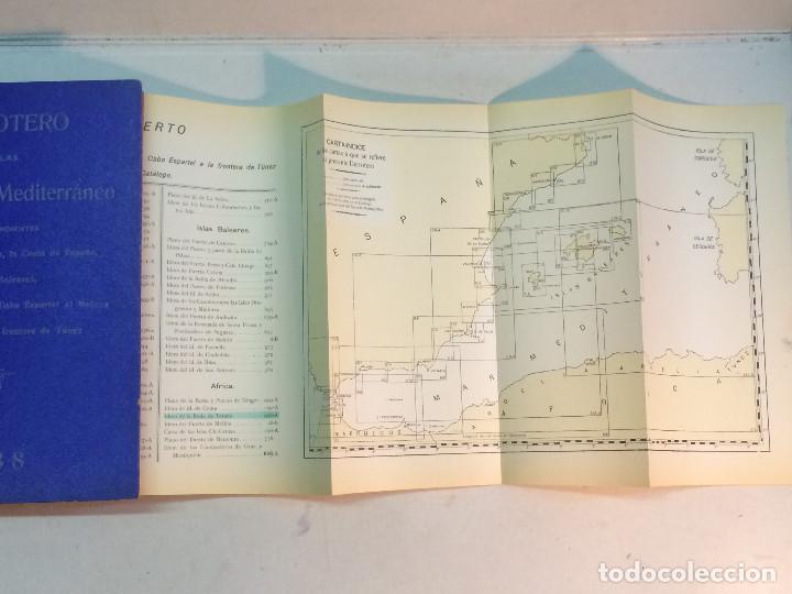 Libros antiguos: Derrotero de las Costas del Mediterráneo. Num. 3. 1938 - Foto 4 - 238145285