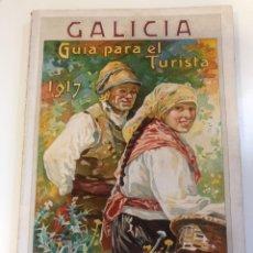 Livros antigos: CORUÑA.'GALICIA GUIA PARA EL TURISTA 1917' POR ELADIO RODRÍGUEZ. ¡¡¡MUY RARA!!! ESTADO IMPECABLE. Lote 238796740