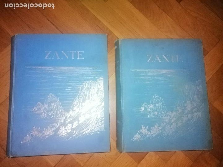 ZANTE. 2 VOLUMENES . PRINCIPE LUDWIG SALVATOR, ERZHERZOG VON ÖSTERREICH. PRAGA 1904. (Libros Antiguos, Raros y Curiosos - Geografía y Viajes)