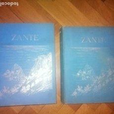 Libros antiguos: ZANTE. 2 VOLUMENES . PRINCIPE LUDWIG SALVATOR, ERZHERZOG VON ÖSTERREICH. PRAGA 1904.. Lote 241974110