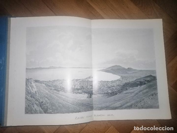 Libros antiguos: Zante. 2 volumenes . Principe Ludwig Salvator, Erzherzog Von Österreich. Praga 1904. - Foto 4 - 241974110