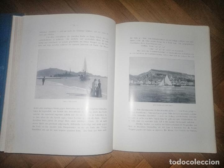 Libros antiguos: Zante. 2 volumenes . Principe Ludwig Salvator, Erzherzog Von Österreich. Praga 1904. - Foto 7 - 241974110