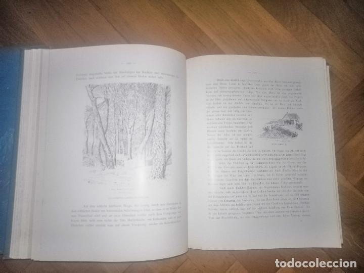 Libros antiguos: Zante. 2 volumenes . Principe Ludwig Salvator, Erzherzog Von Österreich. Praga 1904. - Foto 9 - 241974110