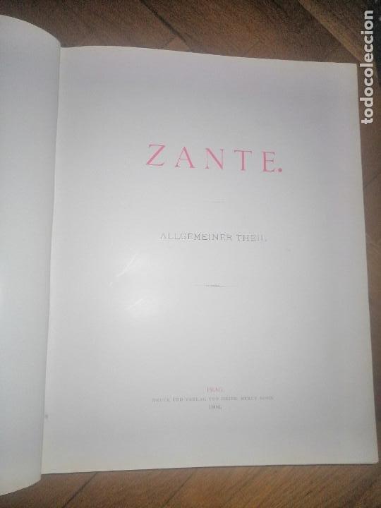 Libros antiguos: Zante. 2 volumenes . Principe Ludwig Salvator, Erzherzog Von Österreich. Praga 1904. - Foto 15 - 241974110