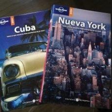 Libros antiguos: GUÍAS LONELY PLANET DE NUEVA YORK Y CUBA. DE 266 PAG.. Lote 63131259