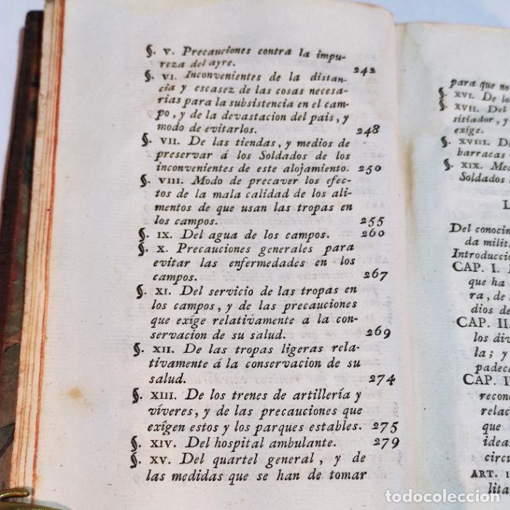 Libros antiguos: Tratado de castramentación ó arte de campar. D. Vicente Ferraz. Imprenta Real. 1800. - Foto 6 - 243434230