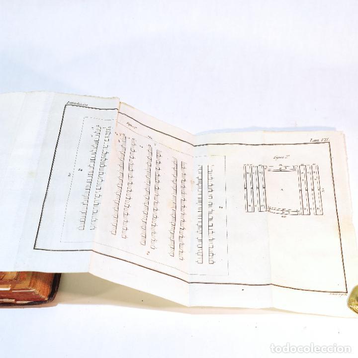 Libros antiguos: Tratado de castramentación ó arte de campar. D. Vicente Ferraz. Imprenta Real. 1800. - Foto 11 - 243434230
