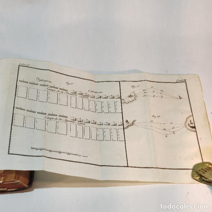 Libros antiguos: Tratado de castramentación ó arte de campar. D. Vicente Ferraz. Imprenta Real. 1800. - Foto 13 - 243434230